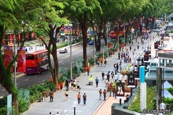 orchard road singapore, tour singapore