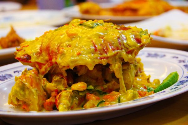 salted egg crab