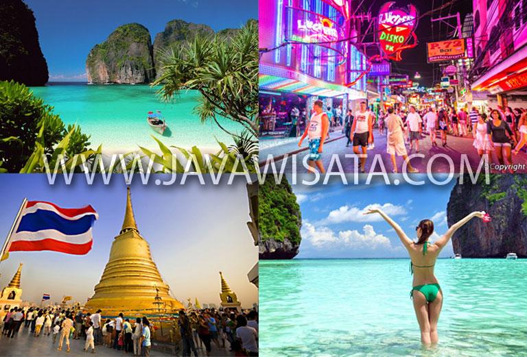 paket tour bangkok pattaya phuket, tempat wisata di bangkok, paket tour thailand
