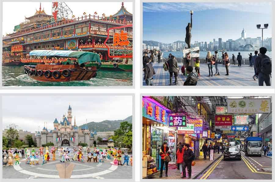Paket Tour Hongkong Disneyland 4D3N, wisata hongkong murah