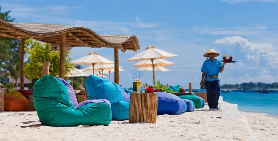 Pantai Gili Trawangan, wisata lombok murah, promo liburan ke lombok, paket tour lombok dari bandung