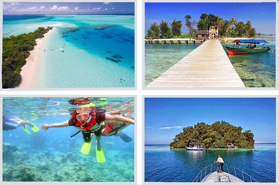 Paket Tour Pulau Harapan Murah
