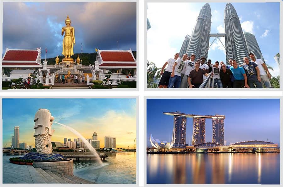 Paket Wisata 3 Negara Singapore Malaysia Thailand Murah