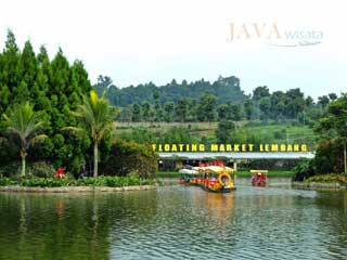 floating market lembang, java wisata, tour bandung, wisata bandung