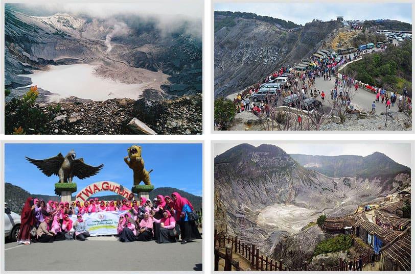 Paket tour gunung Tangkuban Perahu murah