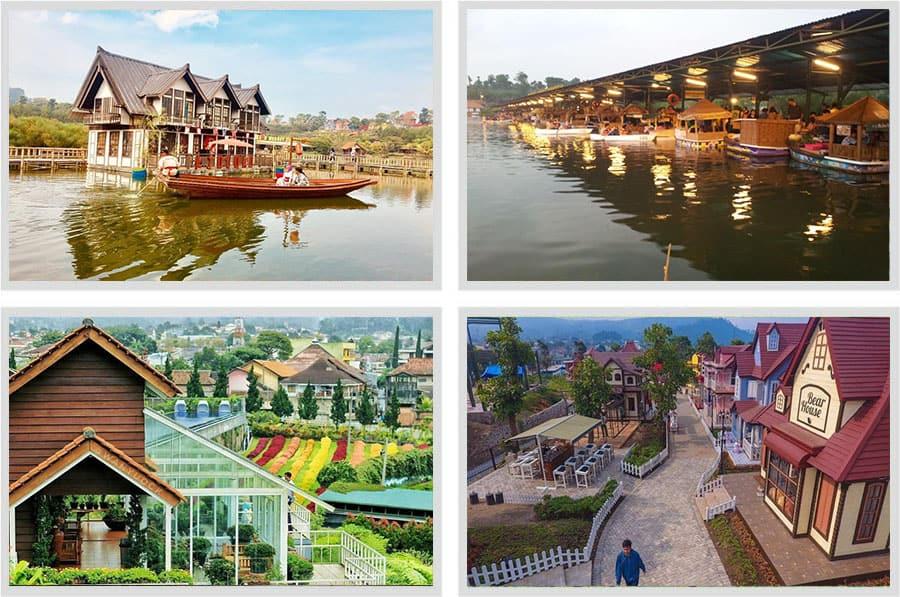 Paket tour Floating Market Lembang Murah