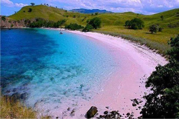 Pantai Tangsi (Pink Beach)