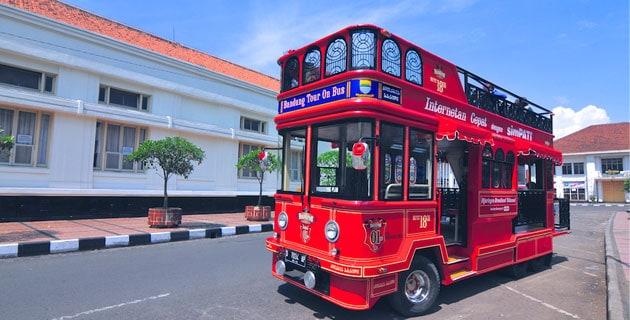 Harga Tiket dan Shelter Bus Bandros Bandung