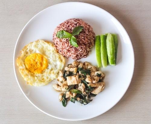 Hasil gambar untuk menu makan nasi merah
