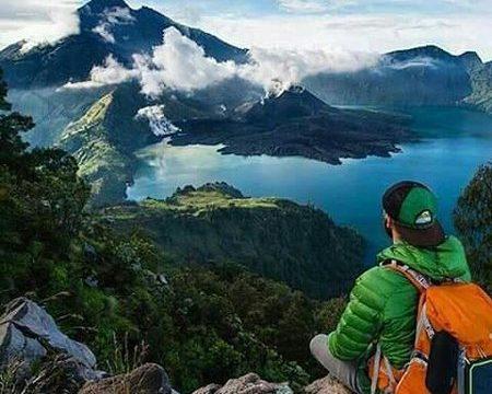 Wisata Taman Nasional Gunung Rinjani di Lombok