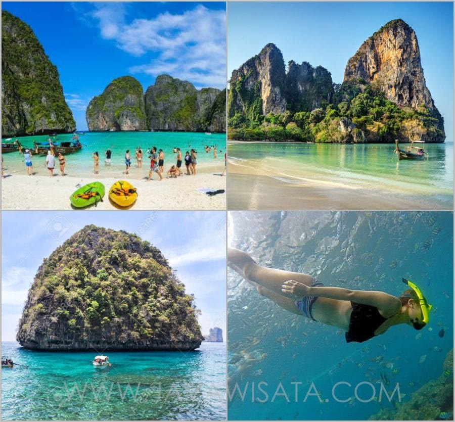 phi phi island tour thailand