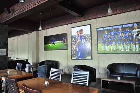Cafe & Lounge Persib, tour bandung, wisata bandung