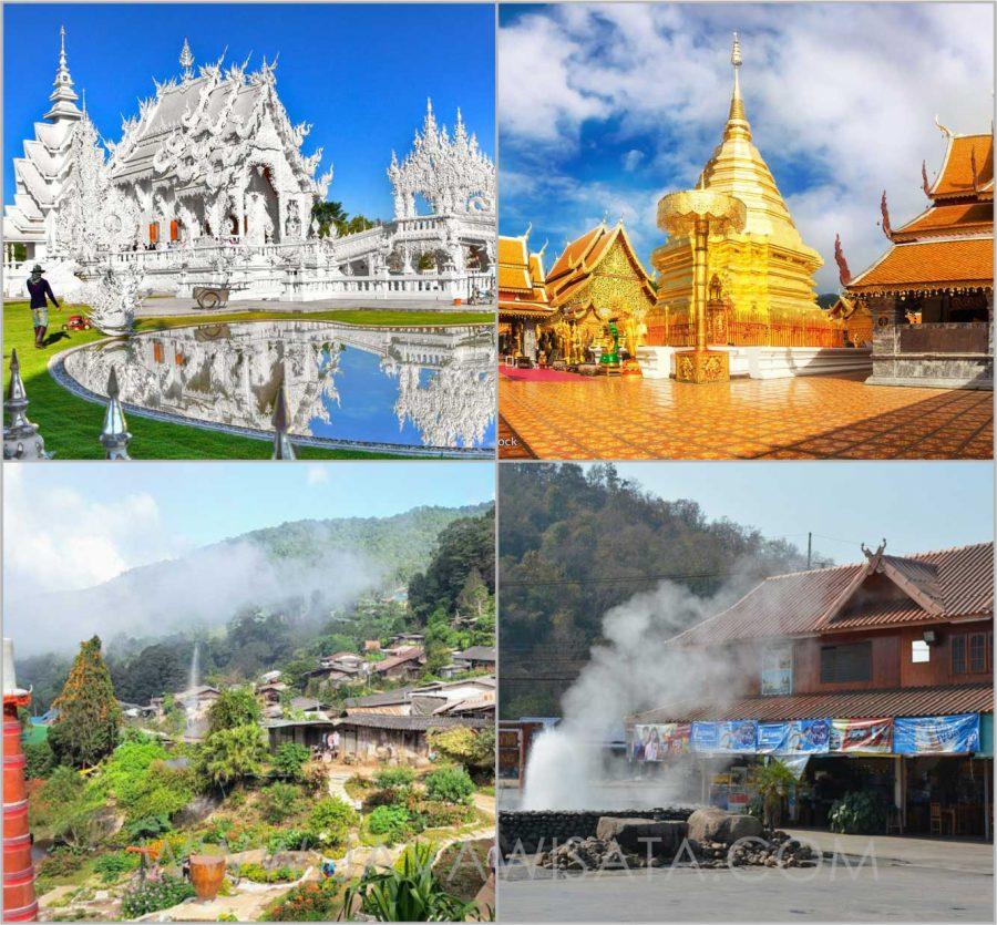 chiang mai chiang rai tour thailand