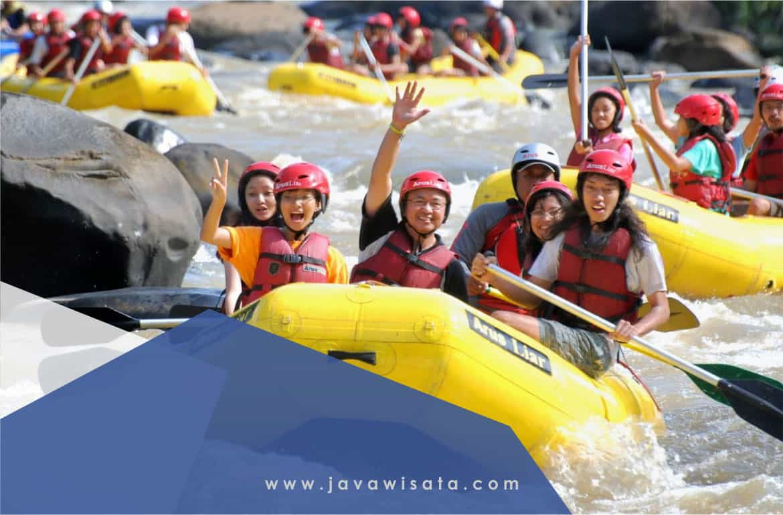 Paket Rafting Citarik Sukabumi Terbaru