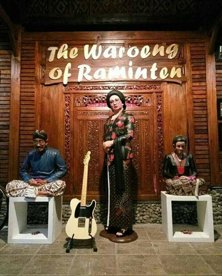 waroeng raminten, the house of raminten, tour jogja, wisata jogja