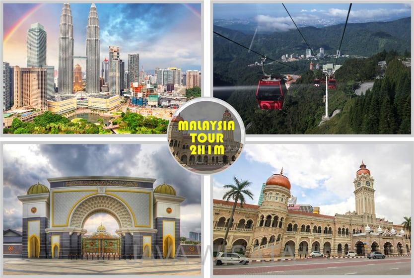 tour malaysia 2 hari