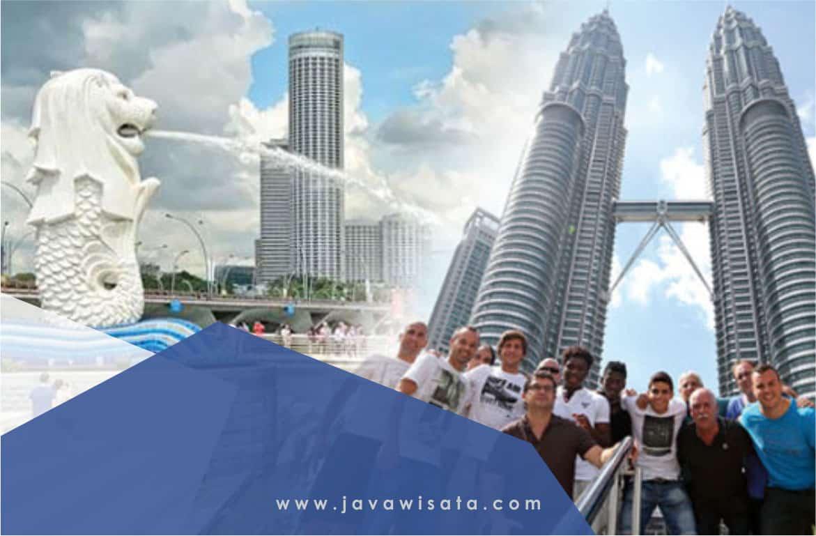 Paket Tour 3 Negara Singapore Malaysia Thailand