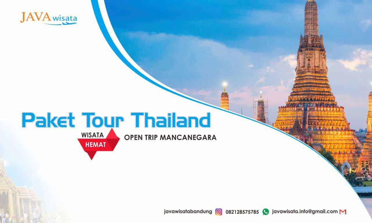 tour thailand murah, wisata murah ke bangkok, tour bangkok murah