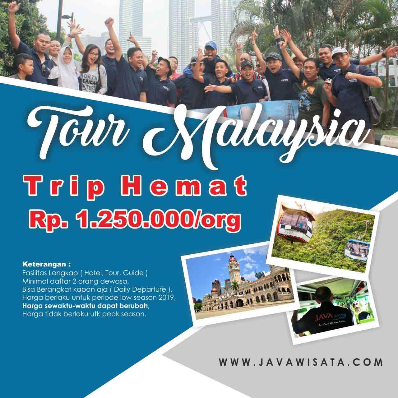 tour malaysia murah