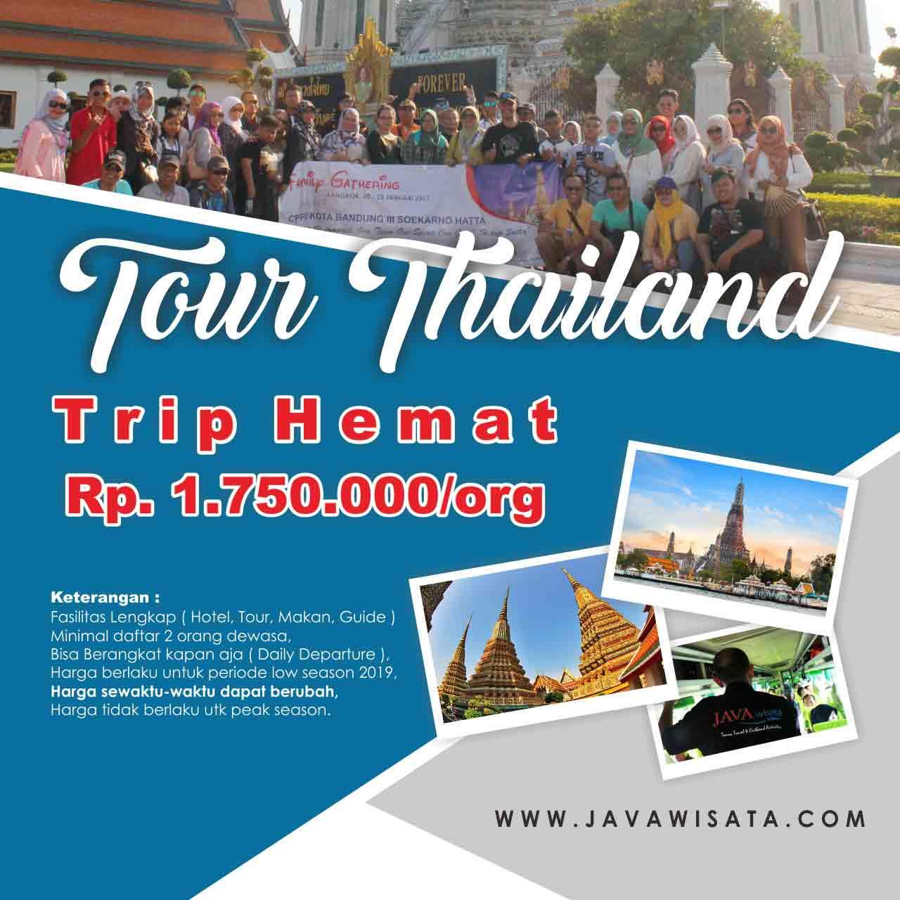 tour thailand murah