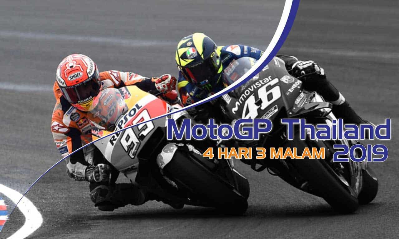 paket tour motogp thailand