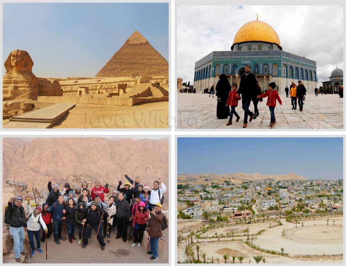 paket tour mesir palestina jordania