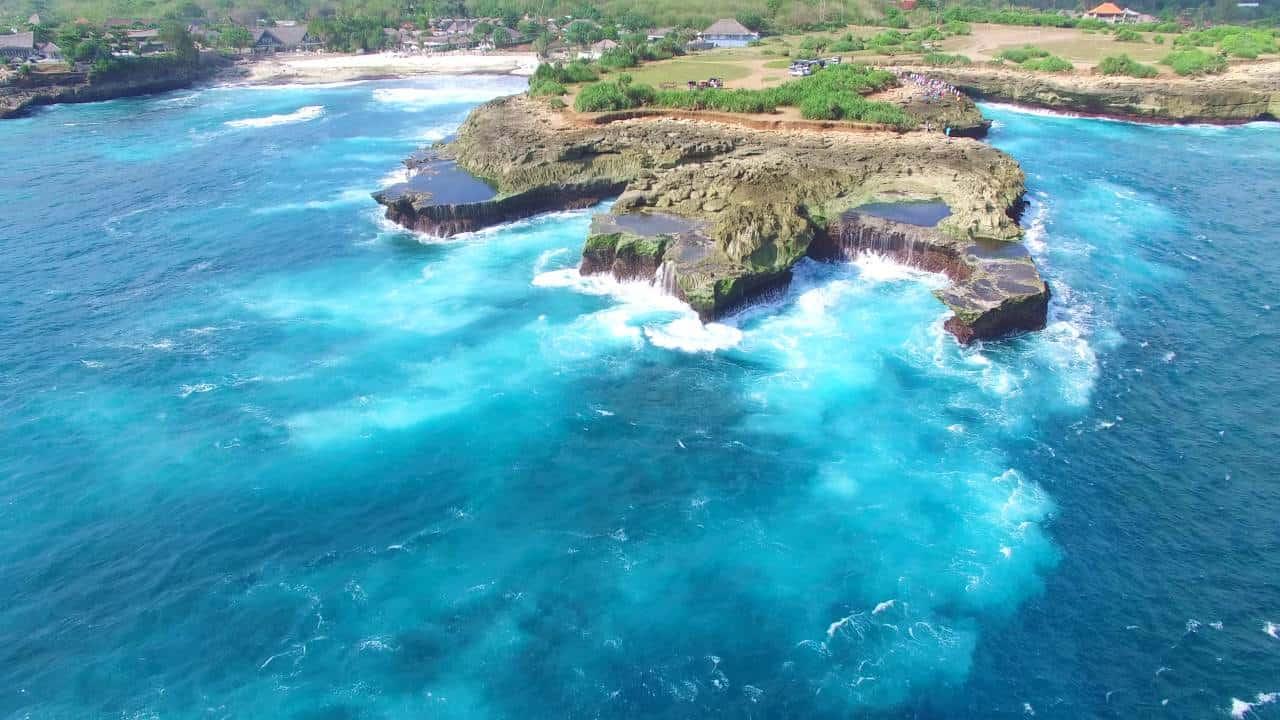 Wisata Devil's Tears Nusa Lembong Bali Ternyata Tak Seseram Namanya