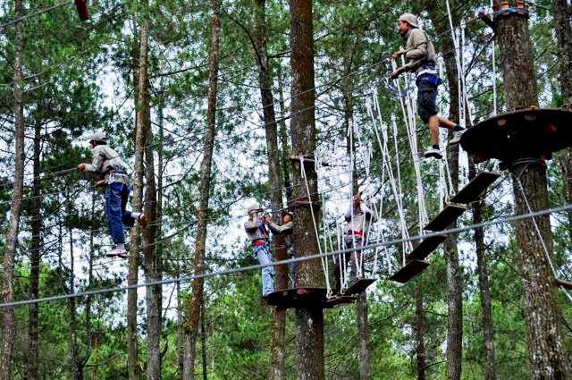 5 Tempat Wisata Outbound Bandung Terpopuler