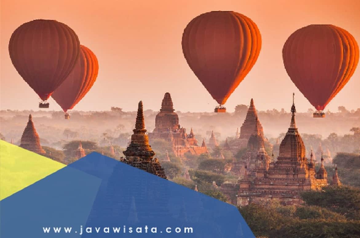 Paket Tour Myanmar Yangon – Bagan 5 Hari 4 Malam