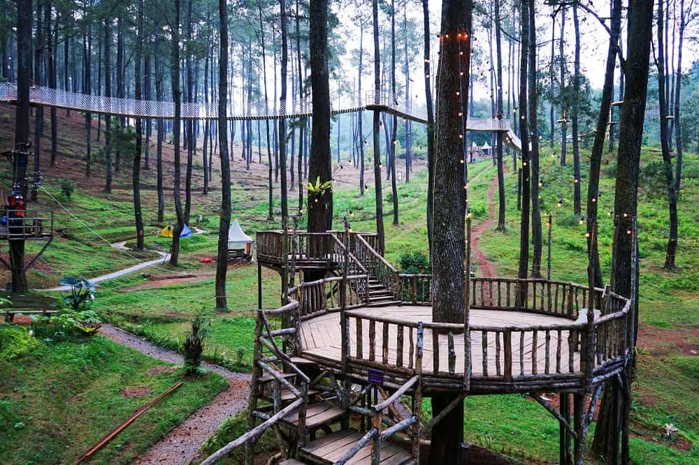 Wisata Alam Bandung yang Membuat Jantung Berdebar