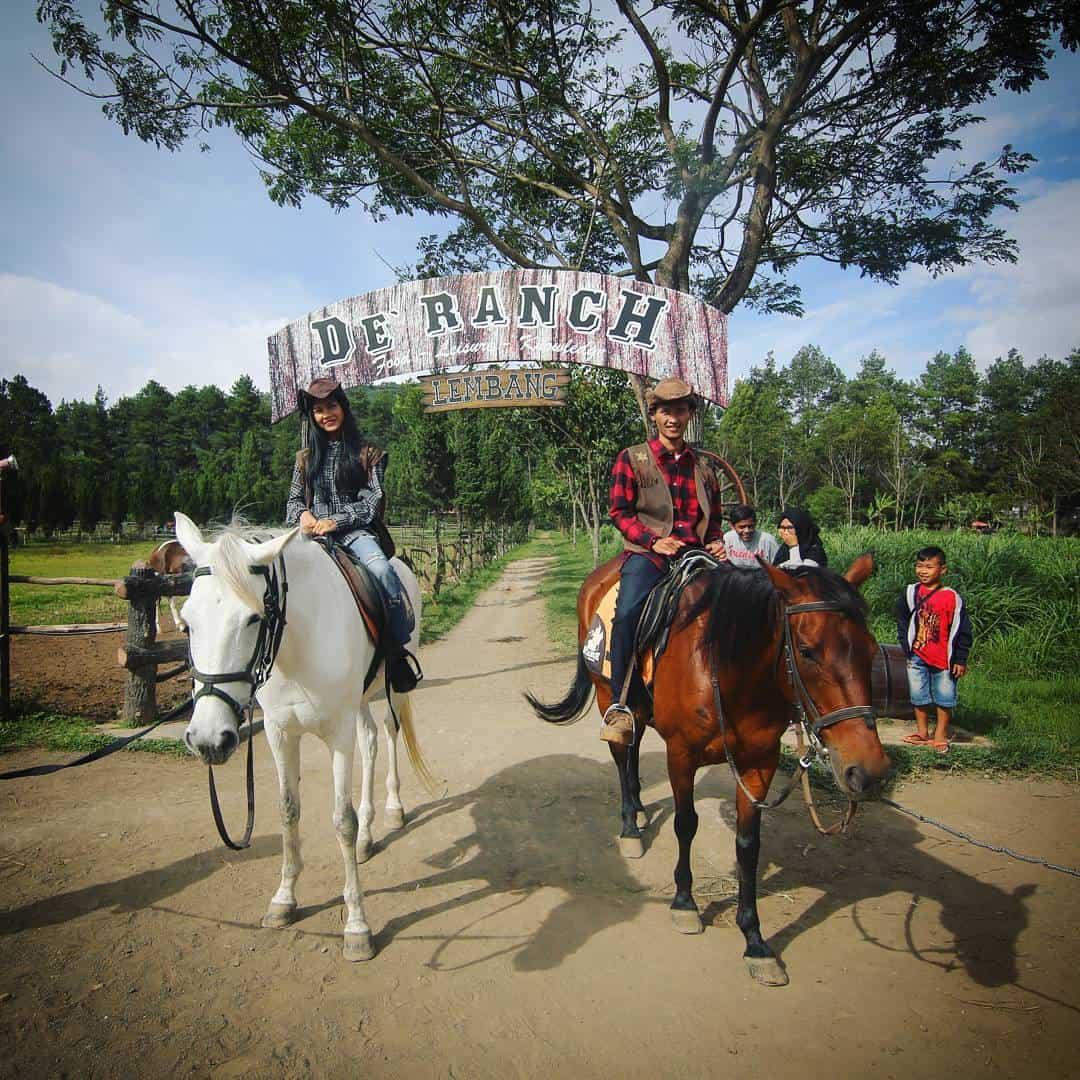 Nikmati Keseruan Wisata De Ranch Bandung