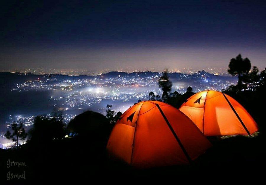 Camping Ceria Ala Anak Muda Hits Kekinian di Lembang