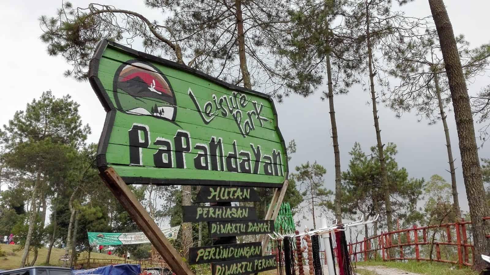 Wisata baru Papandayan Leisure Park
