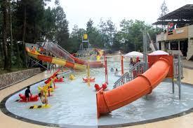 Wisata Air di Ciater Spring Valley Resort