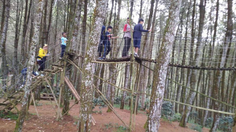 Wisata alam di Giri Wening Lembang