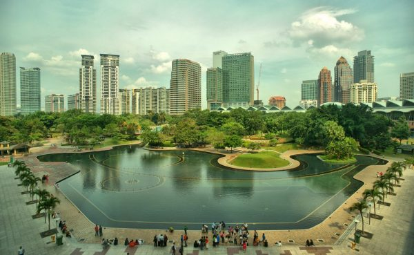 wisata malaysia murah, tour malaysia, Lake Symphony Kuala Lumpur