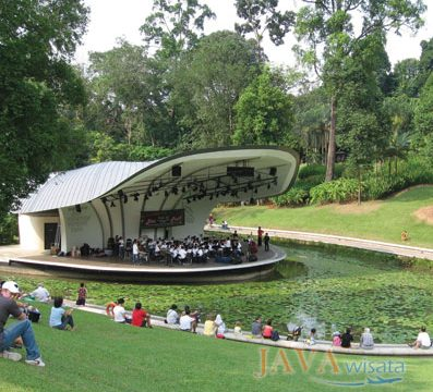 Singapore Botanic Garden, tour singapore, wisata singapore murah