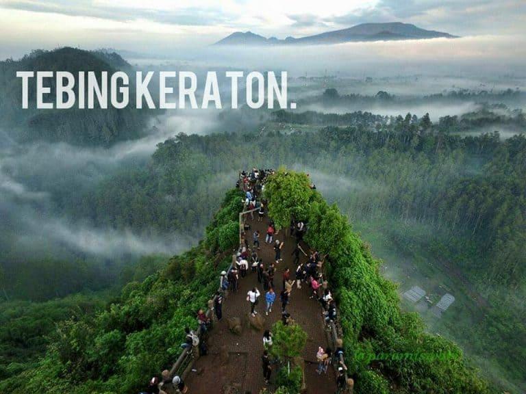 Tebing Keraton, Pahatan Tuhan yang Sangat Indah