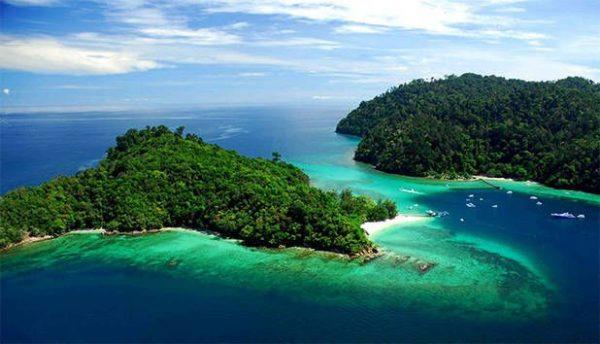 Tunku Abdul Rahman Park, wisata malaysia, tour ke malaysia