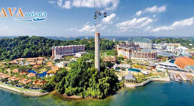 sentosa island, pulau sentosa, tour singapore