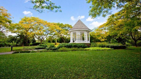 singapore botanic Gardens, tour singapore, wisata singapore
