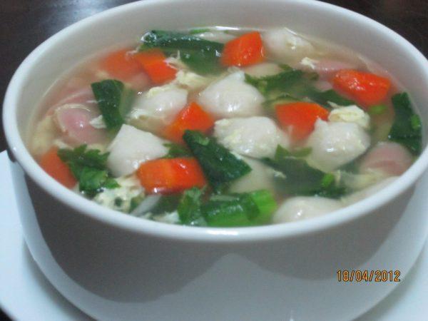 sup bebola ikan